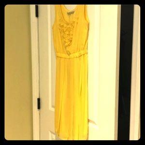 Trina Turk yellow dress size 2